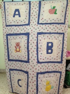 ABC Patchwork and Block Quilt