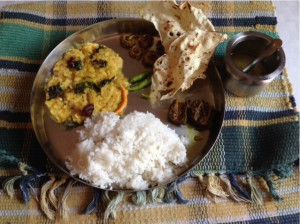 Andhra Sytle Thali meal